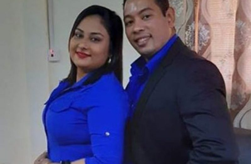 ACFI Financial Adviser, Yuri Garcia Dominguez and his wife, ACFI Director, Ateeka Ishmael