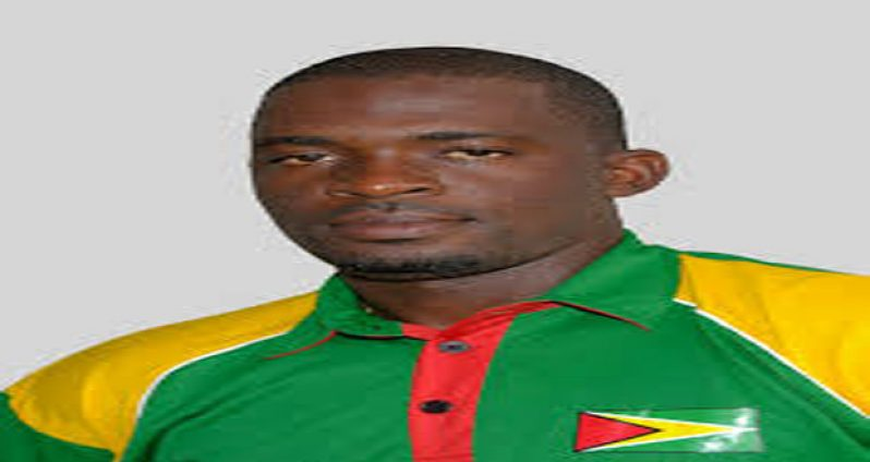 Coach of the Guyana Jaguars PCL team Esaun Crandon