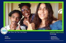 The Green Thumb Creatives Team (photo courtesy of Nareema Khan)