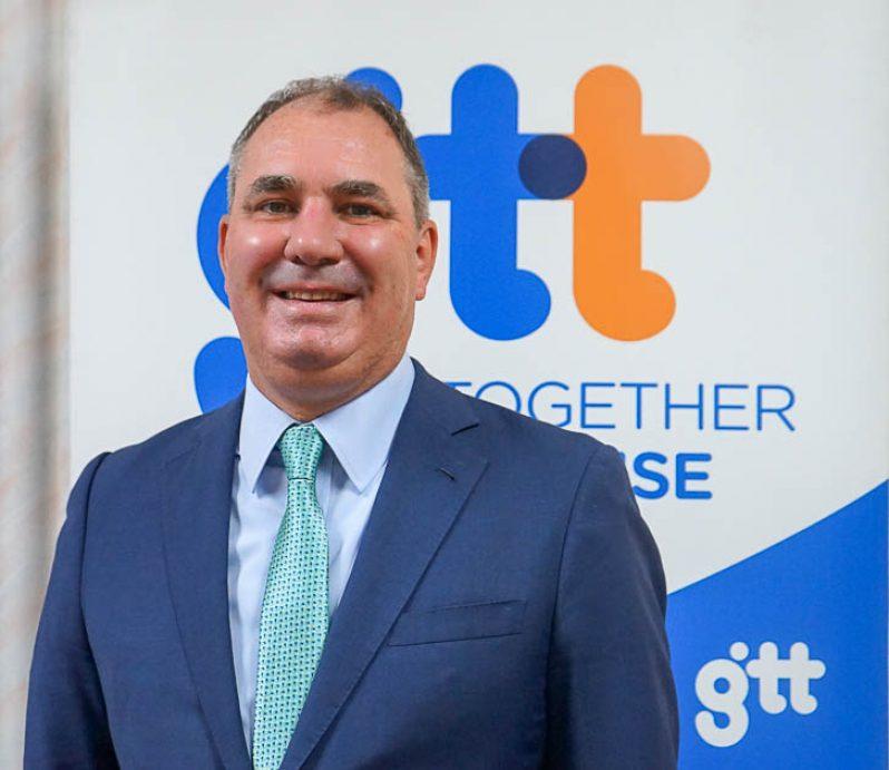 GTT CEO, Damian Blackburn