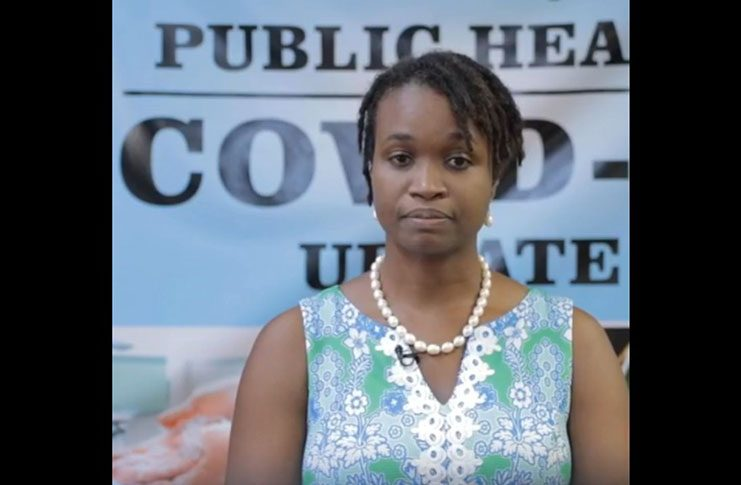 Director of Primary Health Care Services, Dr. Ertenisa Hamilton