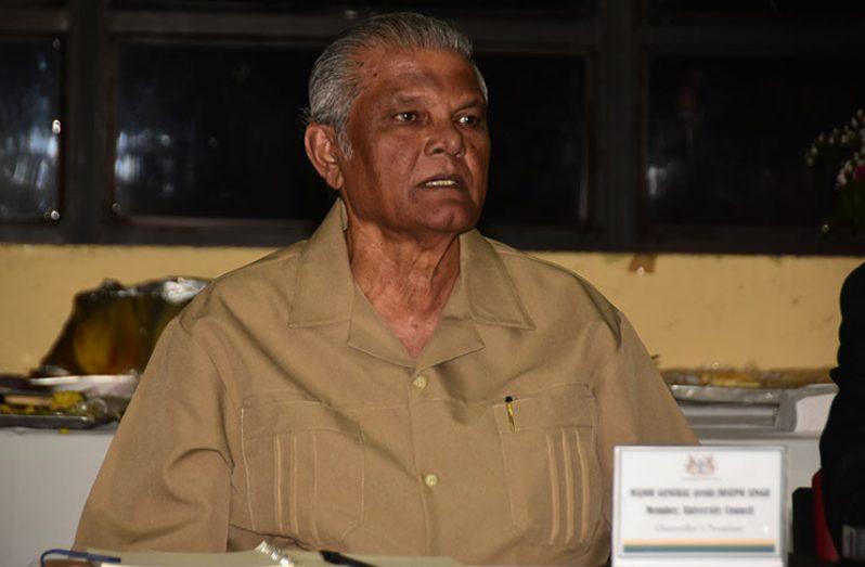 New UG Pro-Chancellor, Major General (Ret'd) Joe Singh