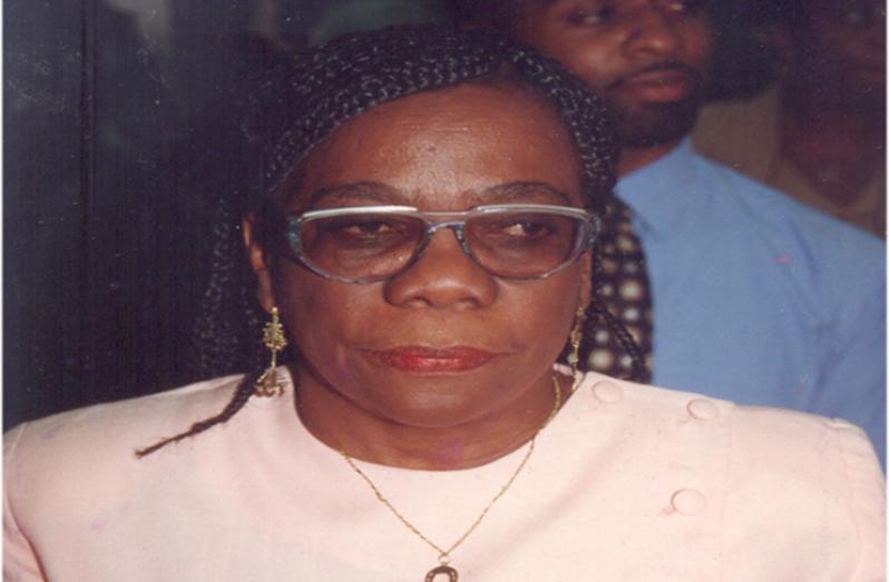 The late Joyce Sinclair (file photo)