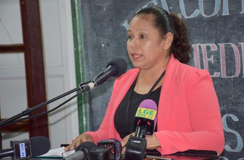 Chief Medex, Ministry of Public Health, Lolita Rebeiro
