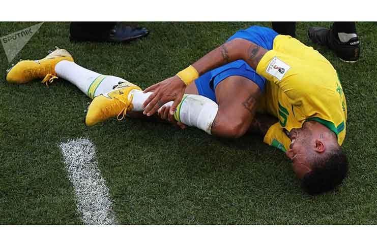 Neymar's theatrics spark ridicule