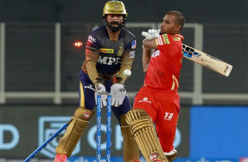 Nicholas Pooran made 85 runs at an average of 7.72 playing for Punjab Kings in the IPL this season. (BCCI)