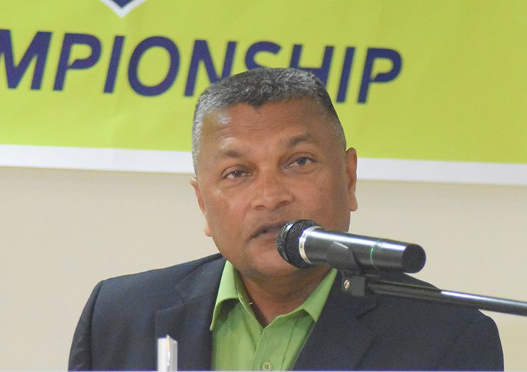 Cricket Guyana Inc. (CGI) executive Anand Sanasie