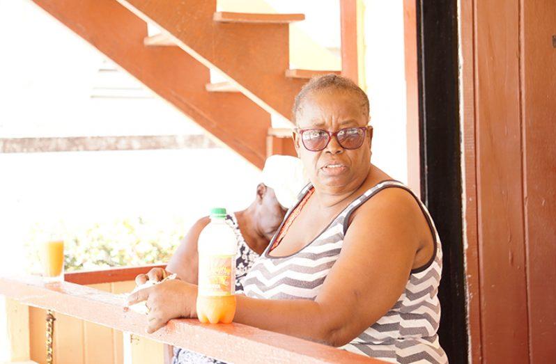 Retired teacher, Althea Wade (Carl Croker photos)