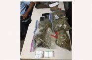 The marijuana that was found