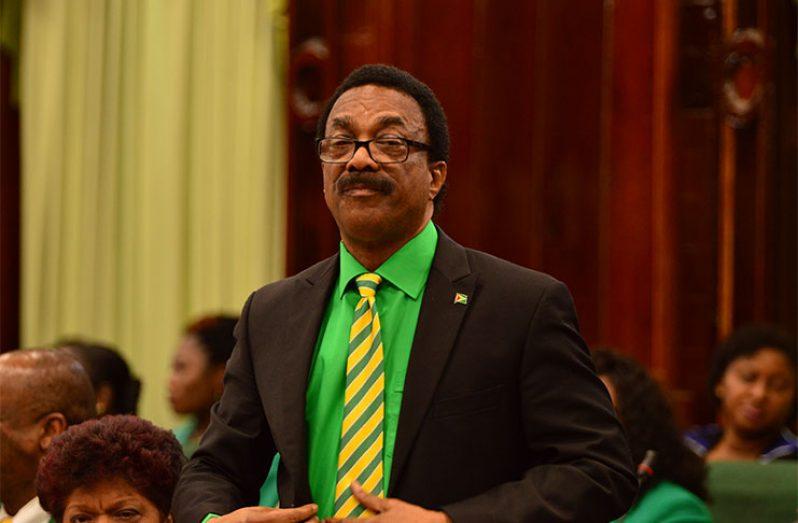 Attorney General, Basil Williams