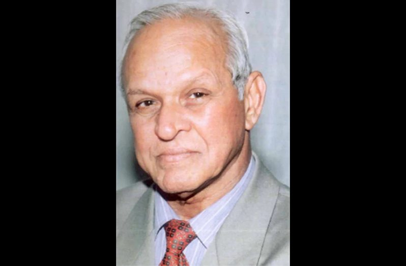 Chairman of Demerara Bank Limited, Dr. Yesu Persaud