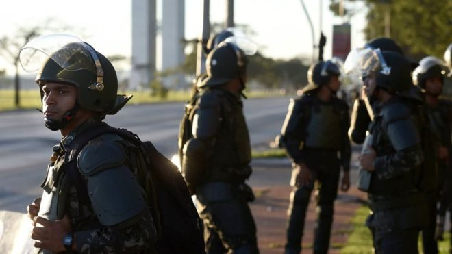 Brazil revokes military deployment decree