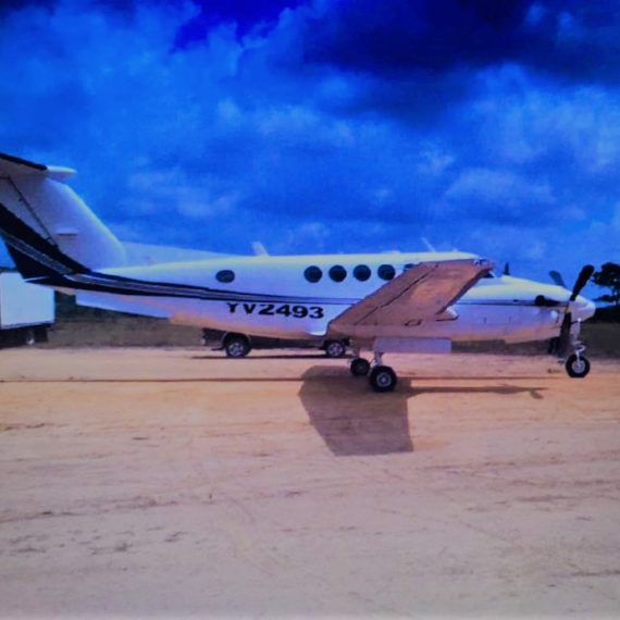 Private aircraft bearing Venezuelan registration detained at CJIA
