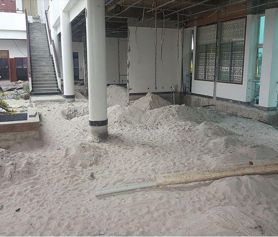 Rehabilitation of Arthur Chung center on schedule
