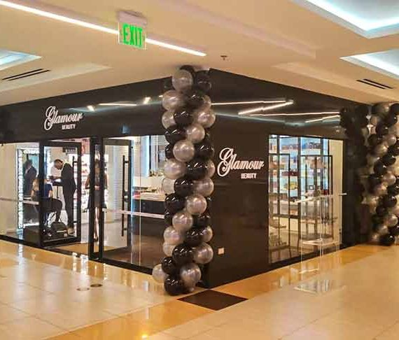 Spanking new 'Glamour Beauty' store opens at MovieTowne