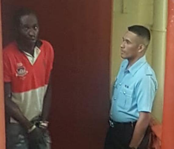 Labourer sentenced for biting security guard
