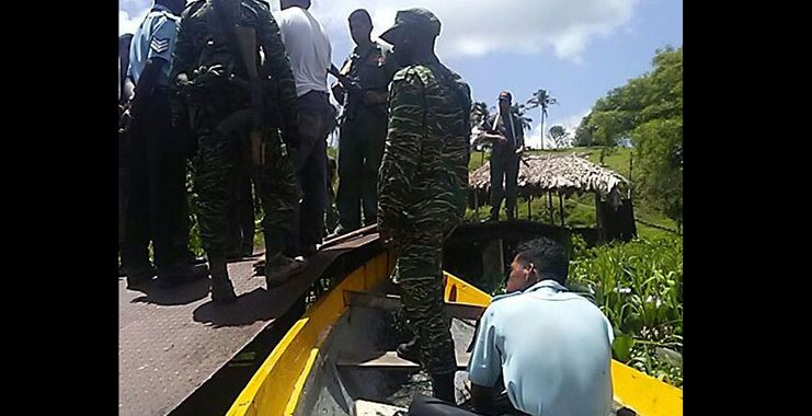 Venezuelan soldiers rob Guyanese